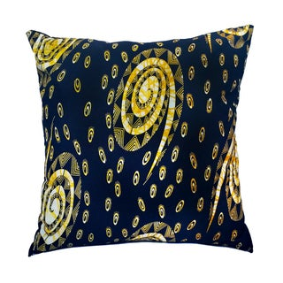Sample Sale XL Wax Print Floor Pillows- a Pair