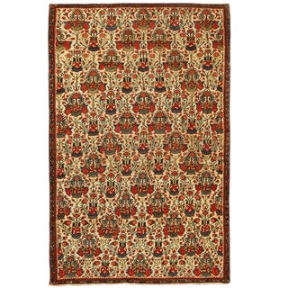 Exceptional Mid-19th Century Persian Fereghen Rug