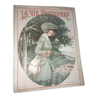 1929 Original La Vie Parisienne Art Deco Magazine