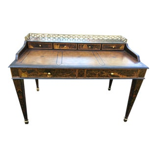 Maitland Smith Chinoiserie Carlton House Desk