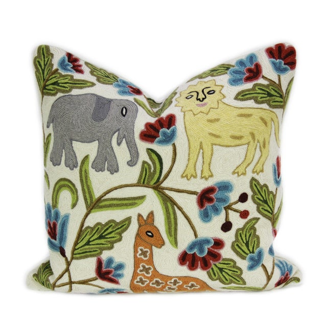Image of Kashmiri Native Wild Animals Pillow