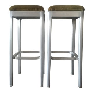 Emeco Starck Barstools - A Pair