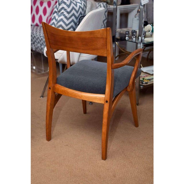 Set of Six Heywood-Wakefield Dining Chairs - Image 7 of 10