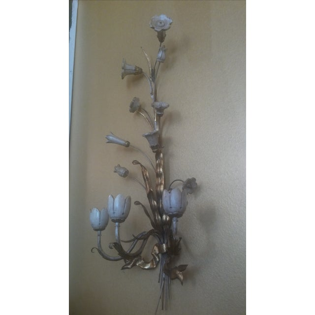 Italian Vintage Florentine Wall Candle Sconce Chairish