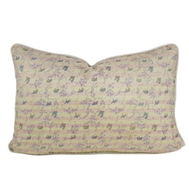 Bengal Silk Ivory Pillow - Image 1 of 3