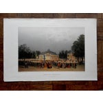 Image of View of Paris Antique Folio Size Lithograph