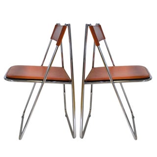Tamara Folding Chairs by Arrben - A Pair