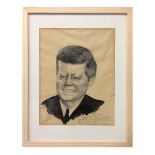 JFK Folk Art Portrait