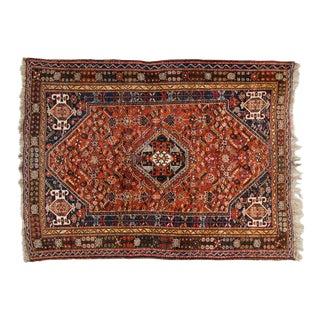 Shiraz Persian Rug, Circa 1950