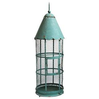 Blue Metal Bird Cage