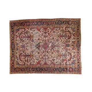 """Vintage Heriz Carpet - 8'4"""" x 11'"""