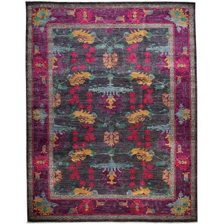 "Arts & Crafts, Hand Knotted Area Rug - 9' 0"" x 11' 6"""