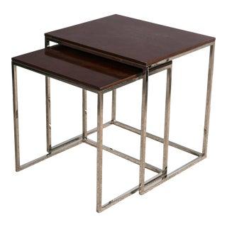 """Ralph Lauren """"Brook Street"""" Nesting Tables - A Pair"""