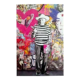 "Mr. Brainwash ""Picasso"" Original Lithograph Print Pop Art Poster"