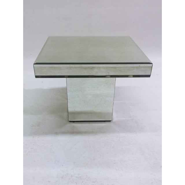 Mirrored End Tables - A Pair - Image 3 of 5