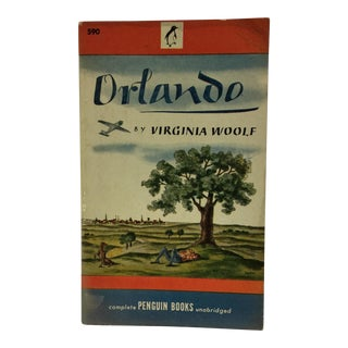 1946 Orlando by Virginia Woolf 1st Edition Book