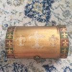 Image of Antique Italian Florentine Gold Music Box Jewelry Box