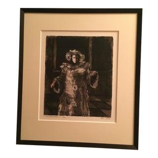 """Carnevale"" Iris Print"