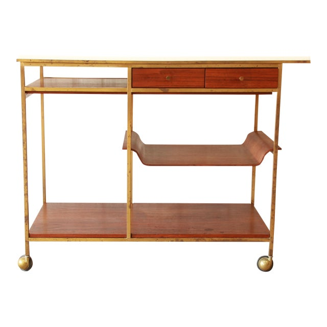 Paul McCobb for Calvin Irwin Collection Bar Cart - Image 1 of 11