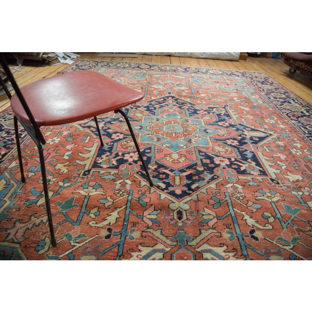 "Vintage Heriz Carpet - 9' X 11'8"" - Image 9 of 10"