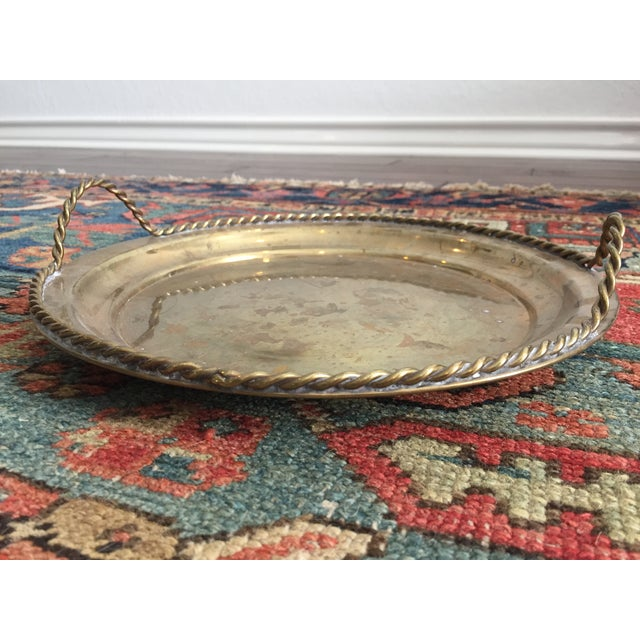 Vintage Brass Tray - Image 2 of 5