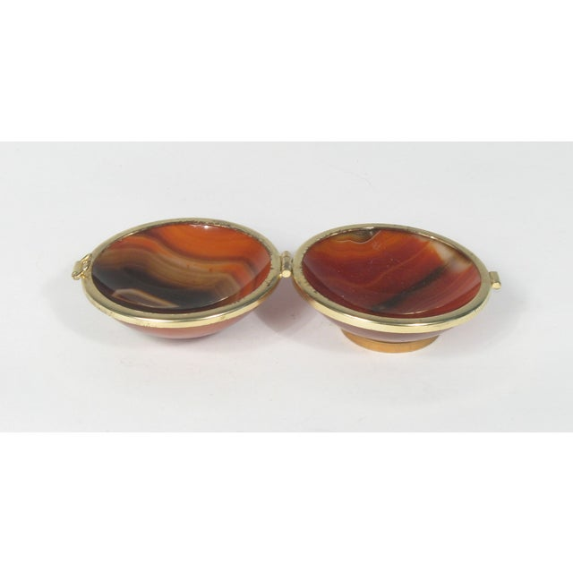 Image of Round Agate Box