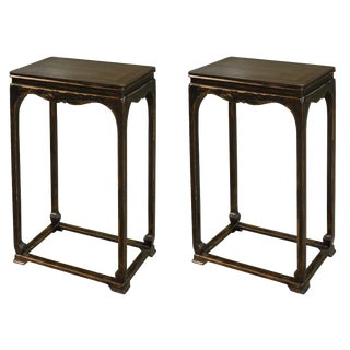Sarreid Ltd Eastern Harbor Tea Table - a Pair