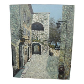 Impressionist Impasto Street City Scape Painting