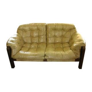 Mid-Century Modern Percival Lafer-Style Sling Sofa