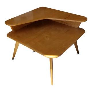 Heywood-Wakefield Mid-Century Modern Corner Table