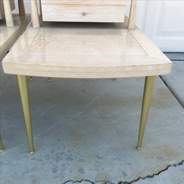 Mid-Century Modern Lane Maple Nightstands - A Pair - Image 3 of 11