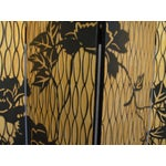 Image of 1960s Japanese 4 Panel Screen