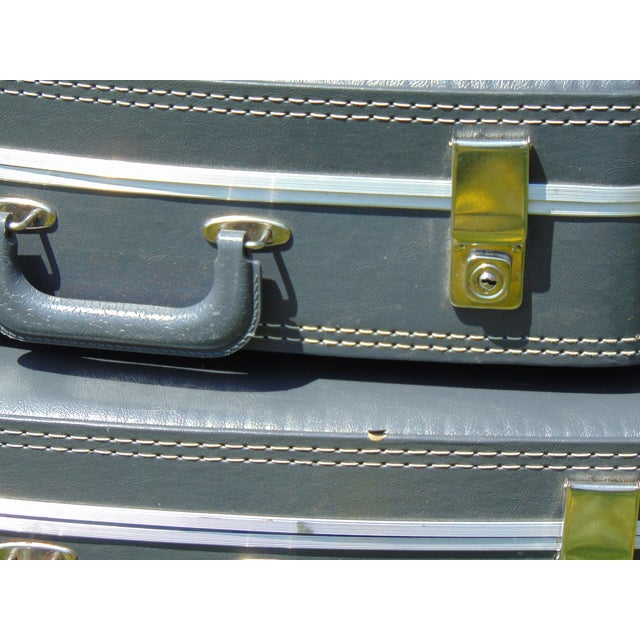 Vintage Suitcases - Set of 4 - Image 7 of 7