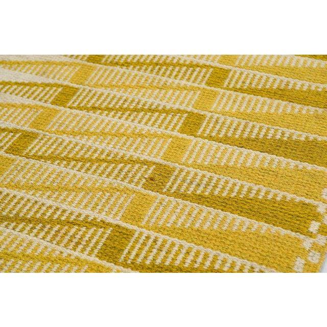 Vintage Swedish Flat-Weave Carpet - Image 5 of 9