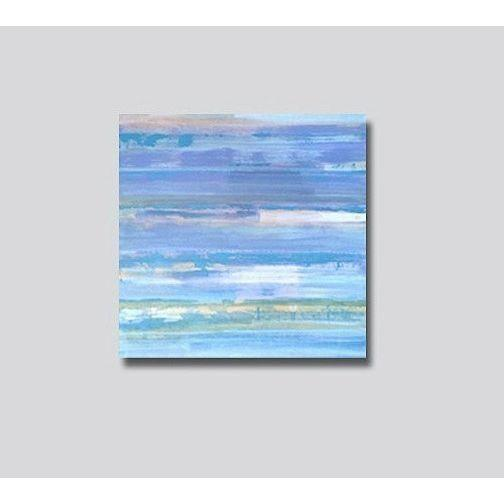 """""""RiSiNG TiDE"""" Original Abstract Painting - Image 3 of 5"""