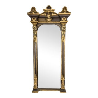 19th Century French Empire Giltwood Mirror