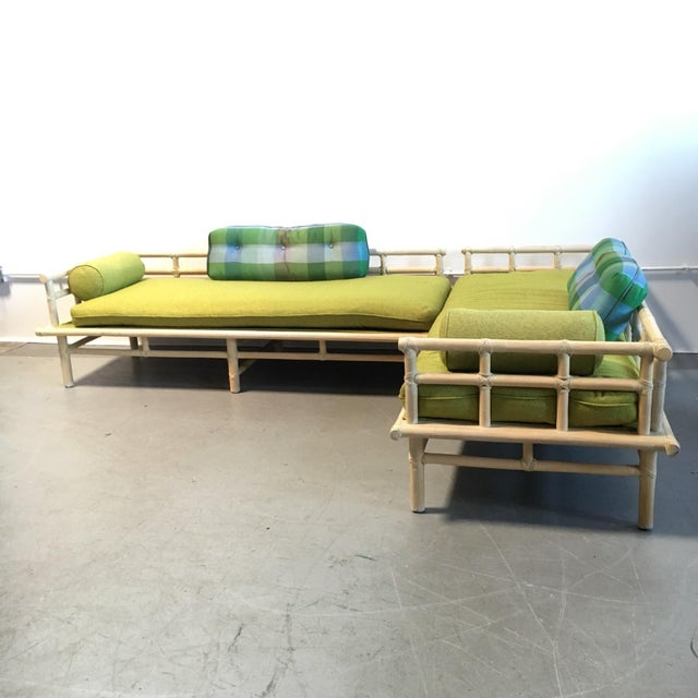 McGuire Rattan Daybed Set - Image 2 of 8