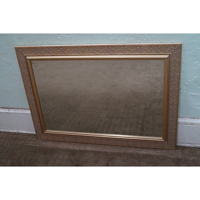Gold Painted Rectangular Hanging Wall Mirror Chairish