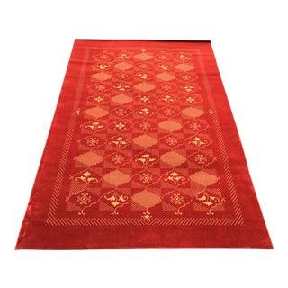 Prado Epos Red Wool Area Rug - 6′6″ × 9′10″