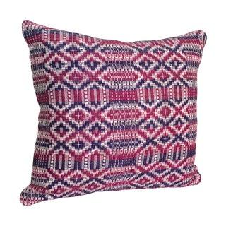 Purple & Magenta Kilim Throw Pillow