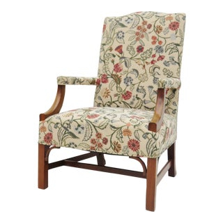 Mahogany Chippendale Library Chair