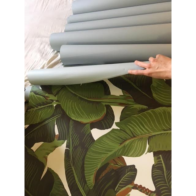 Beverly Hills Hotel Banana Leaf Wallpaper - Image 5 of 5