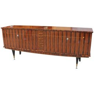 Art Deco Exotic Macassar Ebony Sideboard
