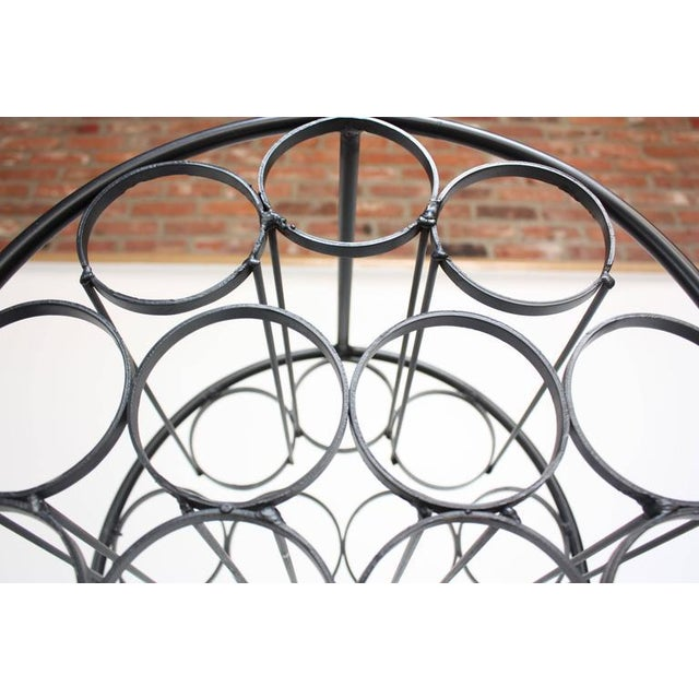 Iron Wine Rack by Arthur Umanoff for Shaver Howard - Image 8 of 11
