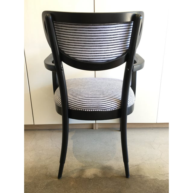 Mid-Century Crescent Back Dining Chairs - Set of 4 - Image 5 of 10