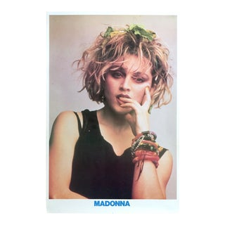 """1983 Iconic """"Madonna"""" Helmut Werb Photograph Collector's Poster"""