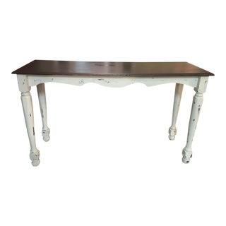 Rustic Farmhouse Style Sofa Table