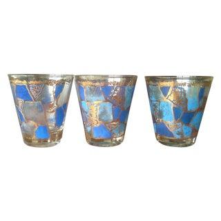 Vintage Georges Briard Cocktail Glasses - Set of 3
