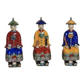 Sarried Ltd Sitting Porcelain Figurines - Set of 3