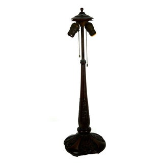 Handel Antique Bronze Table Lamp Base